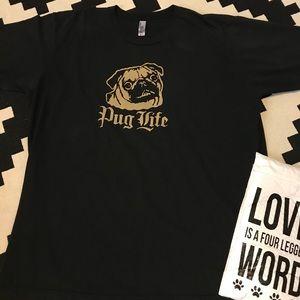 Pug Life Graphic Tee